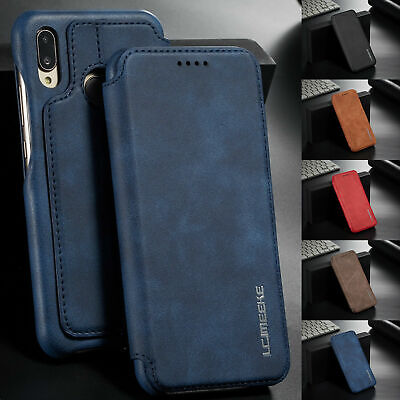 For Huawei P30 Pro Mate20 P20 Pro Magnetic Leather Wallet Case Stand Phone Cover • 2.95£