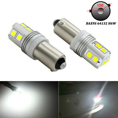 AU15.10 • Buy Canbus Error Free 10 SMD BAX9S H6W LED For Car Reverse Parking Light Xenon White