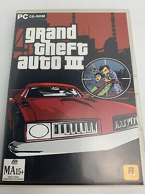 AU11 • Buy Grand Theft Auto III 3 PC