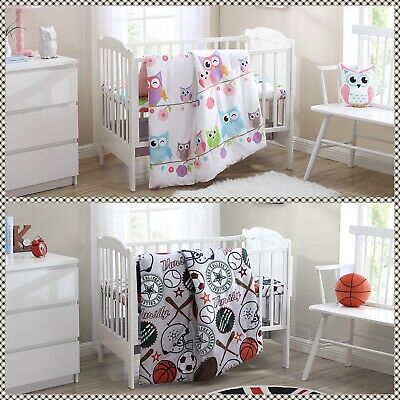 $32 • Buy Baby Crib Bedding Complete Set Girls Or Boys Baby Gift Product Printed Design