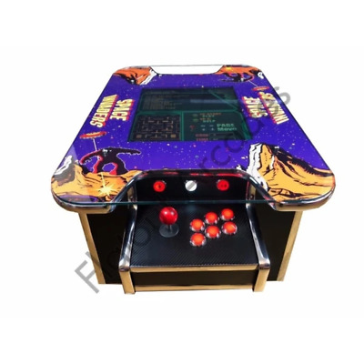 £879.95 • Buy Space Invaders Arcade Coffee Table Machine 412 Retro Games Cabinet UK Made