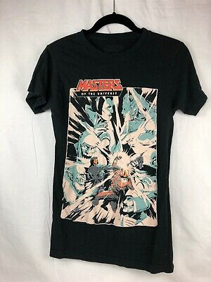 $9 • Buy Masters Of The Universe T Shirt Small Rivals Classic Black Graphic Tee