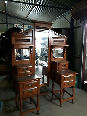 AU450 • Buy Stawell Antique Furniture Cabinets Cupboards