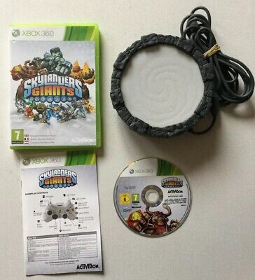 Skylanders Giants Game & Wired Portal Of Power For Xbox 360 - Vgc • 8.99£