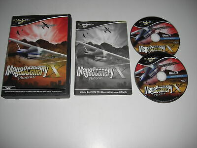 MEGASCENERY X PHOENIX Pc Mega Scenery Add-On Microsoft Flight Simulator X FSX • 16.99£