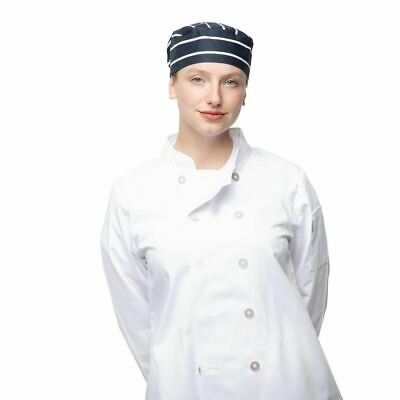 £11.47 • Buy Whites Chefs Clothing Unisex Beanie - Lightweight - In White Size OS