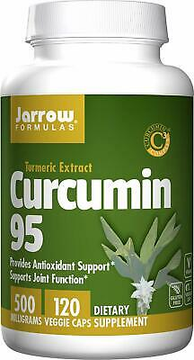 Jarrow Formulas Curcumin 95, Provides Antioxidant Support, 500 Mg, 120 Veggie • 21.46£