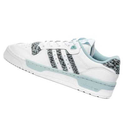 AU126.95 • Buy ADIDAS MENS Shoes Rivalry Low - White & Grey - EG7636