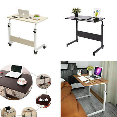 Adjustable Laptop Desk Stand Portable Notebook Computer Table Trolley Bed Tray • 16.99£