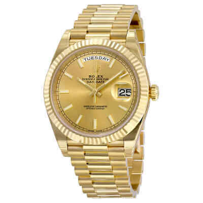 $ CDN44325.97 • Buy Rolex Day-Date 40 Champagne Dial 18K Yellow Gold President Automatic Men's Watch