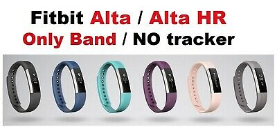 $ CDN36.30 • Buy Genuine Luxury Leather Band Fitbit Alta & Alta HR Small Large Pink Graphite Gray