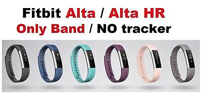 $ CDN13.05 • Buy Genuine Strap Band, Fitbit Alta & Alta HR, Small Large Pink Gray Plum Blue Black