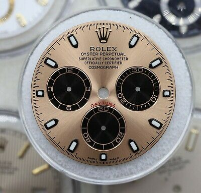 $ CDN2254.47 • Buy Rolex Cosmograph Daytona ROSE PINK Dial Gold Accents 116505 116515