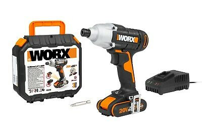 View Details WORX WX291 18V (20V MAX) Cordless Impact Driver With 2.0 Ah Battery • 69.99£