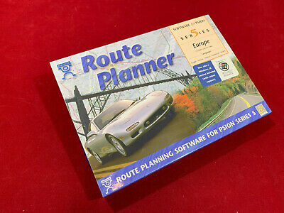 £39 • Buy NEW! Psion Series 5 Route Planner Europe 1997 Software CD ROM In Original Box