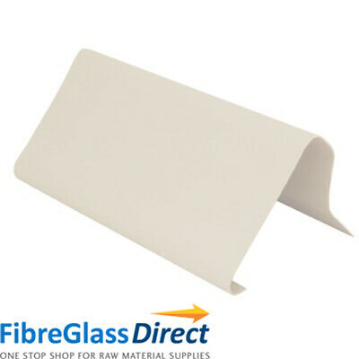 B260 Raised Edge Fibreglass Roof Trim - 3 Metre Length • 16.20£