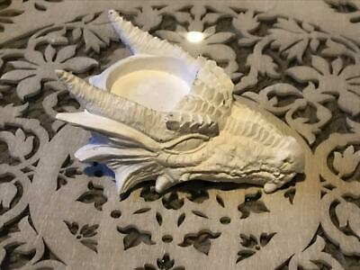 £15.95 • Buy Dragon Head Latex Mould To Create Tealight Candle Holder Concrete Or Plaster