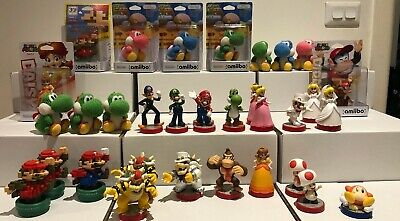 AU25 • Buy Amiibo Super Mario Series Plus Kirby And Yoshi Updated Oct 7th