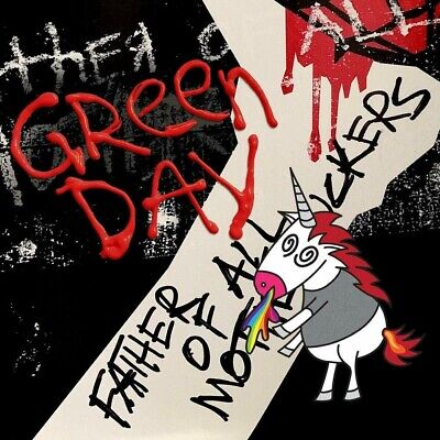 GREEN DAY FATHER OF ALL... CLOUDY RED VINYL ALBUM (Released February 7th 2020) • 22.75£