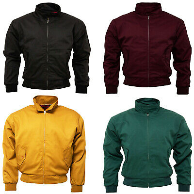 Relco Men's Harrington Jacket Skins Ska Mod Northern Soul Scooter Bomber Jacket • 34.99£
