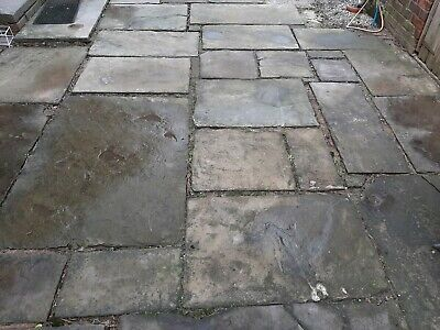 £65 • Buy York Stone Flags Top Quality Slabs Patio Paths Garden House Thestonedealer £65