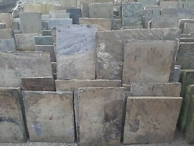 £85 • Buy Authentic Antique Reclaimed York Stone Slabs Flags Thestonedealer Best On Ebay