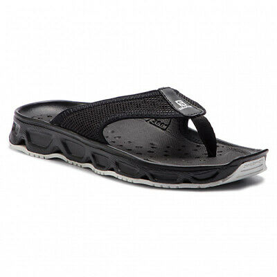 Salomon Men's RX Break 4.0 Recovery Sandals, Black, White PN: L40744500 • 42.30£