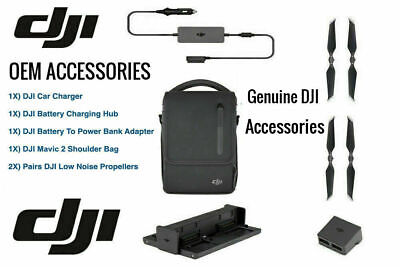 AU259.67 • Buy Original DJI Mavic 2 Pro Zoom Genuine Accessories From Fly More Combo Kit Bundle