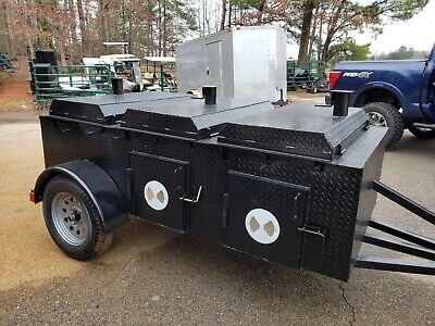 $3999 • Buy Pro Chicken Flipper Cooker Grill BBQ Smoker Trailer Food Truck Catering Business