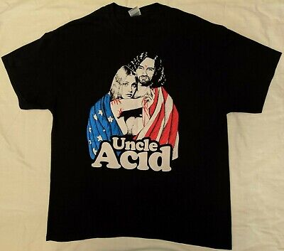 $75 • Buy UNCLE ACID 2014 Rare MARYLAND DEATHFEST Shirt Blood Lust Electric Wizard XL