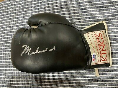 AU19995 • Buy Muhammad Ali Signed Boxing Glove PSA DNA AB03704