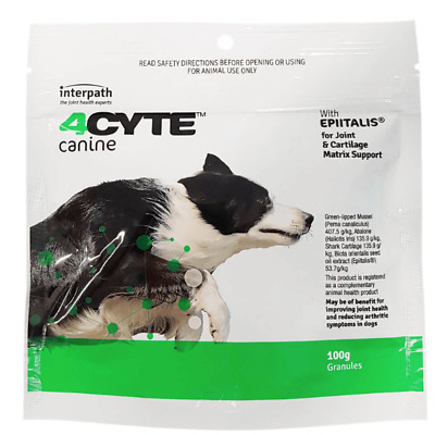 AU69.95 • Buy 4CYTE™ Canine Joint Support Supplement - Granules For Dogs