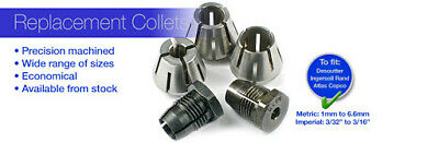 £15 • Buy Desoutter , Atlas Copco Type B Angle Drill Collets