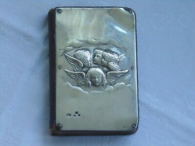 £225 • Buy Antique Solid Silver Reynolds Angels Book Of Common Prayer & Hymns