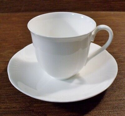 3 Villeroy & Boch ARCO WEISS Cups & Saucers EXCELLENT • 20.24£