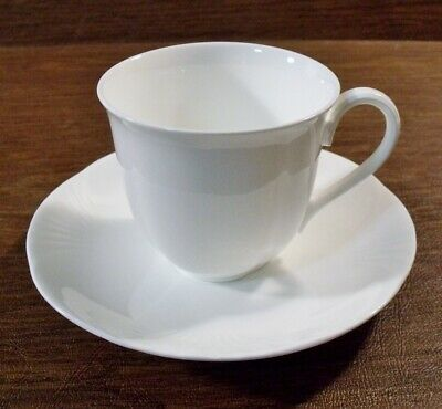 3 Villeroy & Boch ARCO WEISS Cups & Saucers EXCELLENT • 18.29£