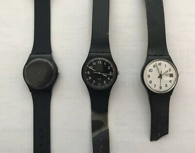 $ CDN45 • Buy Lot Of 3 Vintage Swatch Watches
