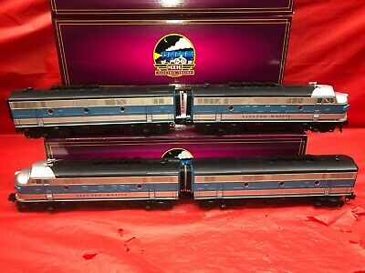 $850 • Buy MTH 20-2077-1 ABBA F-3 Diesel: Electro Motive Division 4 Piece Set Proto 3.0 NEW