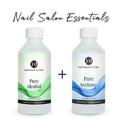 £12.95 • Buy 100% Pure Acetone Alcohol Cleaner Gel, Acrylic Nails, Tips, Glue Polish Remover