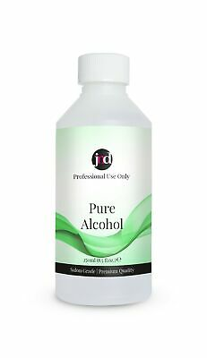 100% Pure Alcohol Prep & Wipe Cleanser Nail Gel Polish Residue Remover 250ml • 7.95£