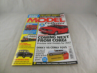 £3.50 • Buy Model Collector February 2012 Coming Next From Corgi Preview New Models For 2012