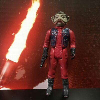 $ CDN20 • Buy Star Wars Vintage Complete Nien Nunb Figure 1983