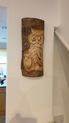 Carved Wooden Garden Ornaments • 10£