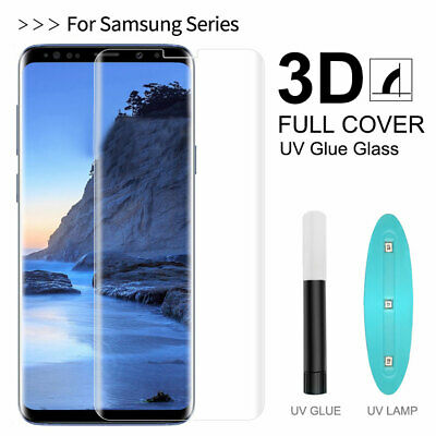 $ CDN4.92 • Buy UV Tempered Glass Screen Protector For Samsung Galaxy S20 Ultra/S20 Plus 9H Film