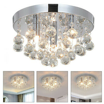 Chandelier Style Modern Ceiling Light Shade Pendant Crystal Bead Lights Lamp • 20.99£
