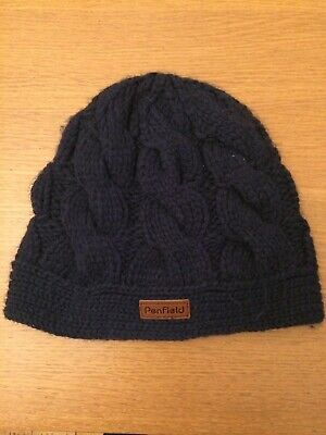 Penfield Navy Blue Beanie Hat, Excellent Condition • 5£