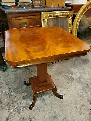 $565 • Buy Antique Flame Mahogany Side Table - Beautiful And Excellent Condition
