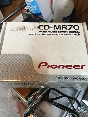 $79 • Buy Pioneer CD -MR 70 Wired Marine Remote Control Open Box Boat Stereo Complete