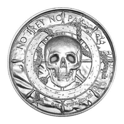 $ CDN156.30 • Buy 2 Oz Privateer Collection | Privateer Ultra High Relief Silver Round