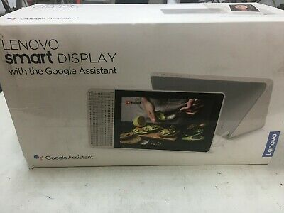 AU220 • Buy Lenovo SD-8501F 8 Inch Display Smart Speaker With Google Assistant - Grey